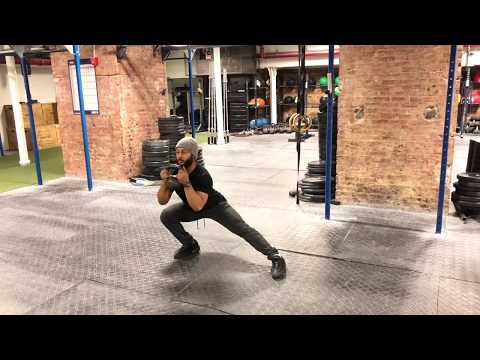 Kettlebell Lateral/Side Lunge - Technique Video