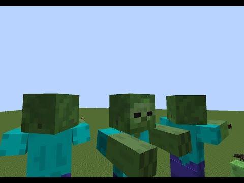 Minecraft 1.11 How to Spawn A Giant Zombie