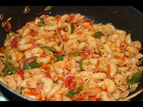 HOW TO MAKE VEG MACARONI BY DOLLY KITCHEN-RECIPE IN HINDI