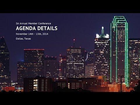 SA Conference Agenda Details (by Jonathan Pototschnik)