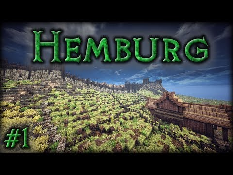 Hemburg: Ep1 -  City Walls & Farms (Timelapse)
