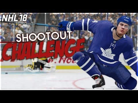 NHL 18 SHOOTOUT CHALLENGE #10 *TRUE BROADCAST EDITION*
