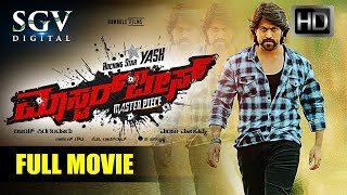 Masterpiece - Kannada Full HD Movie | Yash, Shanvi Srivastava | Blockbuster Kannada New Movies