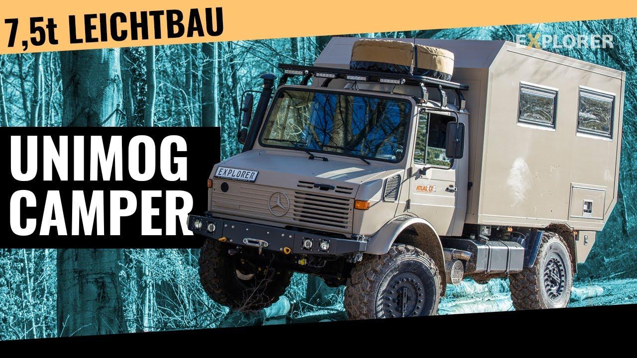 Extrem geländegängiger Unimog U1350L als Expeditionsmobil im Test