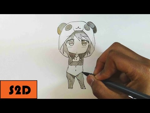 How To Draw Chibi Girl In PJ's