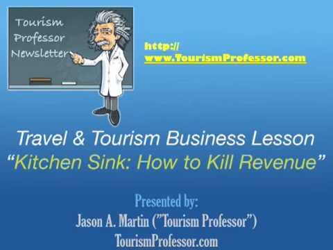 Online Travel Business - Tourism Professor : Kitchen Sink and Killing Revenue