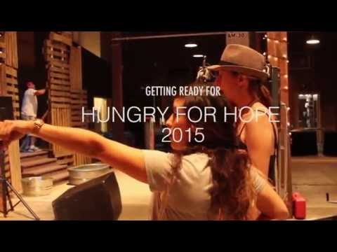 Getting Ready for Hungry for Hope 2015