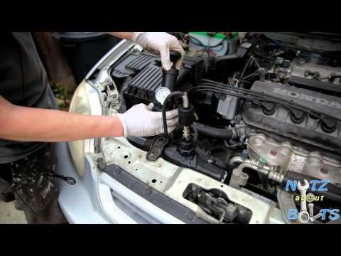 1996-2000 Honda Civic Radiator pressure testing