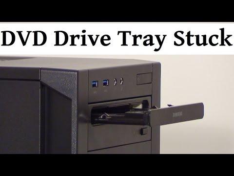 DVD Drive Tray Stuck Half Way Out