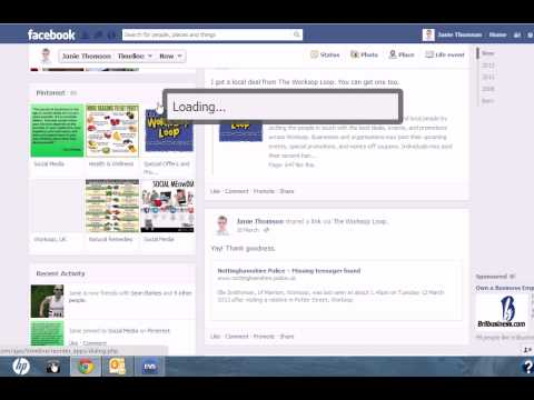 Show/Hide Sections on Facebook Timeline 2013