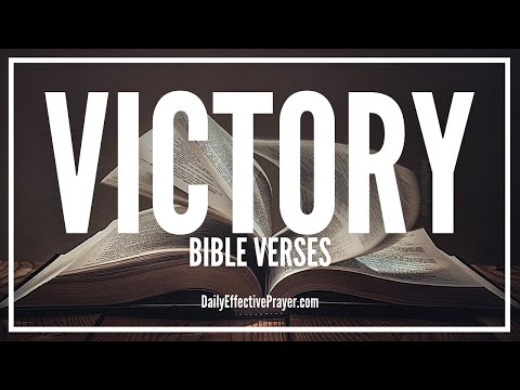Bible Verses On Victory - Scriptures For Victory Over The Enemy (Audio Bible)