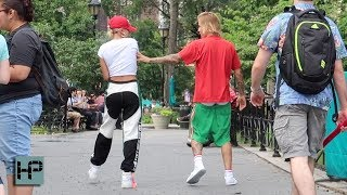 Justin Bieber and His Fiancé Hailey Baldwin on a Romantic Stroll Through NY Trying to Blend In
