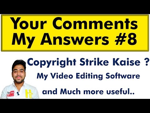 Your Comments My Answers || QnA #8 || I'm Always Happy To Help || Hindi