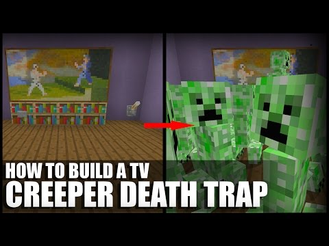 How to Make a Creeper Death Trap in Minecraft