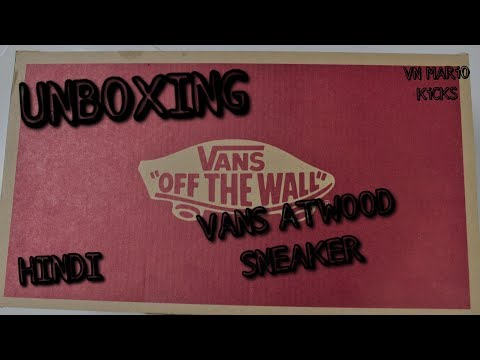 Vans Atwood Unboxing  | Hindi | INDIA