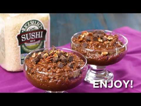 Mocha Rice Pudding