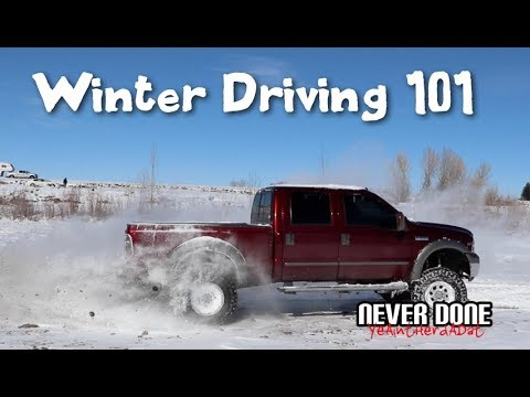 How To Drive on Snow and Ice - Winter Driving 101