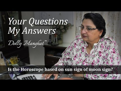 Is The Horoscope Based On Sun Sign Or Moon Sign?