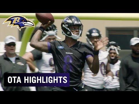 Highlights of OTAs Week 1 | Baltimore Ravens
