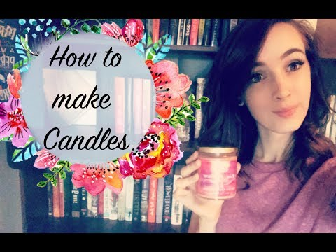 How To Make Bookish Candles