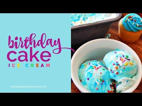 No Churn Birthday Cake Ice Cream Recipe
