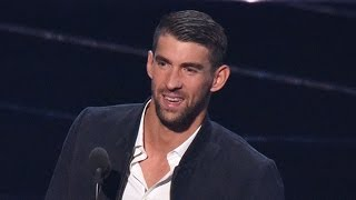 Michael Phelps & Final Five Get Huge Ovations at 2016 MTV VMAs