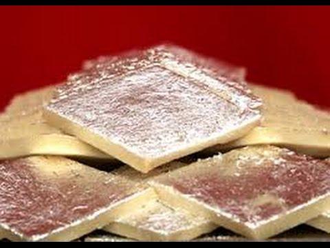 kaju katli silver foil