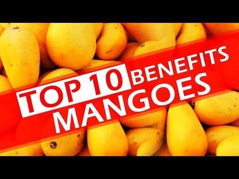 Top 10 Benefits of Mangoes -  Top 10 Benefits of Mango Fruits - Amazing Healthy Fruits Mangoe