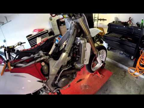 How to get lights on a CRF 450R Supermoto!