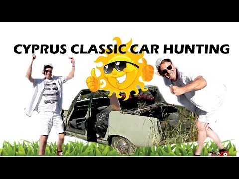 Abandoned Classic Cars - Cyprus