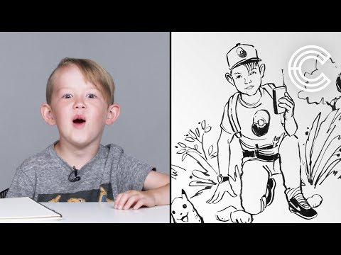 Desmond Describes His Dream Job To An Illustrator | Kids Describe | HiHo Kids