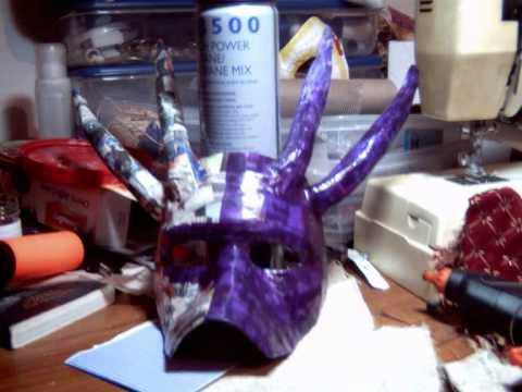 dragon mask by jack moulder