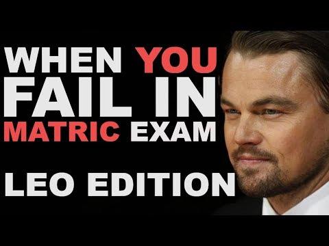 When YOU FAILED in Matric EXAMS