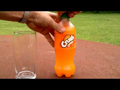 HOW TO MAKE A SELF-FREEZING ORANGE SLUSHY!