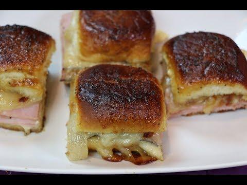 Ham and Cheese Sliders - How to Make Ham and Cheese Sliders