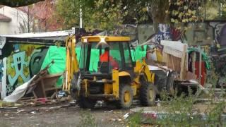 Expulsion de familles roms à la Croix-Rousse, Lyon 4e
