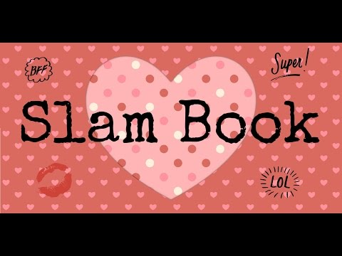 Simple,very easy to make mini heart slam book... It's very nice to gift a mini slam book.Must watch.