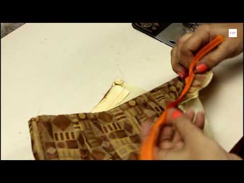 How to Attach Side Zip In Croptop/Blouse, How To Attach Invisible Zipper #stitchingclass