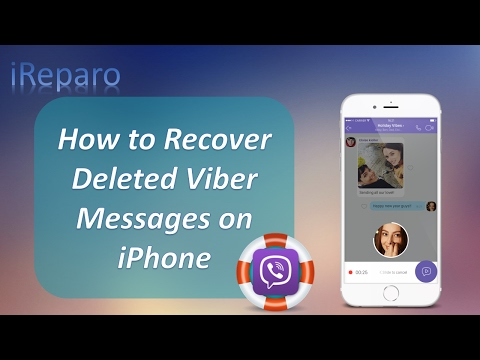 Easy Ways to Recover Deleted Viber Messages on iPhone 7/6S/6/5S/5