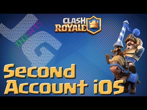 Tutorial: Clash Royale New Account iOS | Multiple Accounts iOS