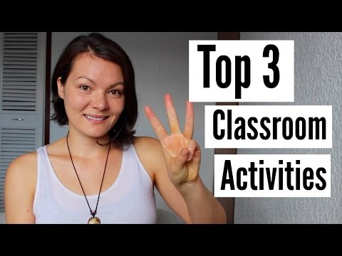 Teaching English in Colombia   Top 3 Classroom Activities