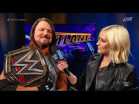 iAnthuny LIVE WWE FASTLANE REACTIONS