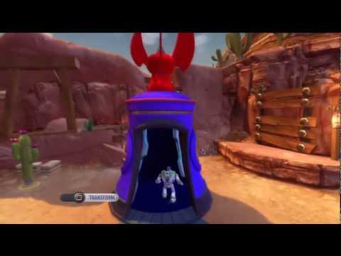 Toy Story 3 Game - Toy Box Mode: How To Get Zurg! Part 1