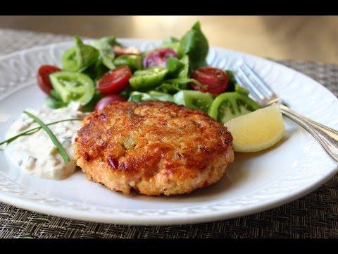 Fresh Salmon Cakes Recipe - Salmon Patties with Fresh Wild Salmon