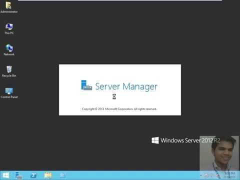 Window Server 2012 (DNS Server Forward lookup Zone)