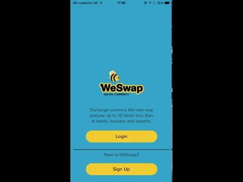 What is WeSwap Foreign Exchange MasterCard and App
