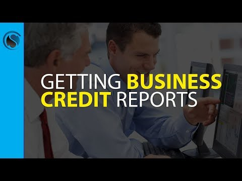Getting Business Credit Reports
