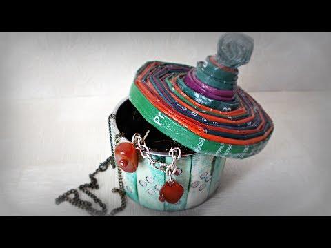 How to Make Jewelry Box from Bracelet | Maison Zizou