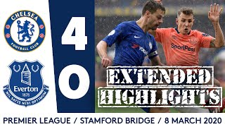 EXTENDED HIGHLIGHTS: CHELSEA 4-0 EVERTON