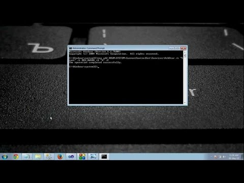 How to enable or disable USB PORT using cmd